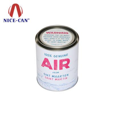 Custom printed metal round candy tin box wholesale