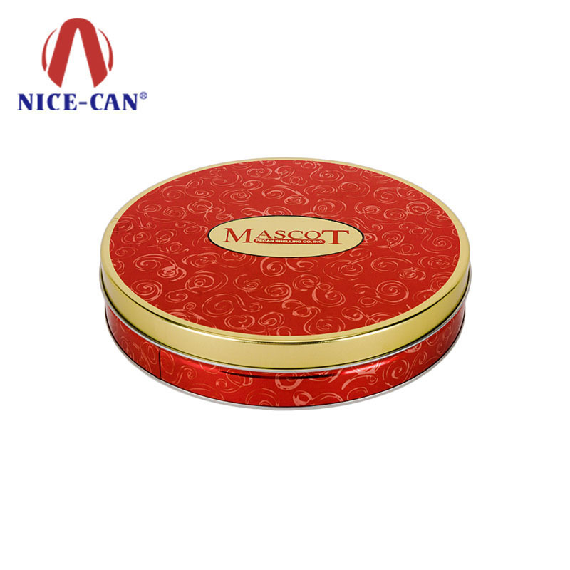 food containers moon cake tin box round food packaging tin box