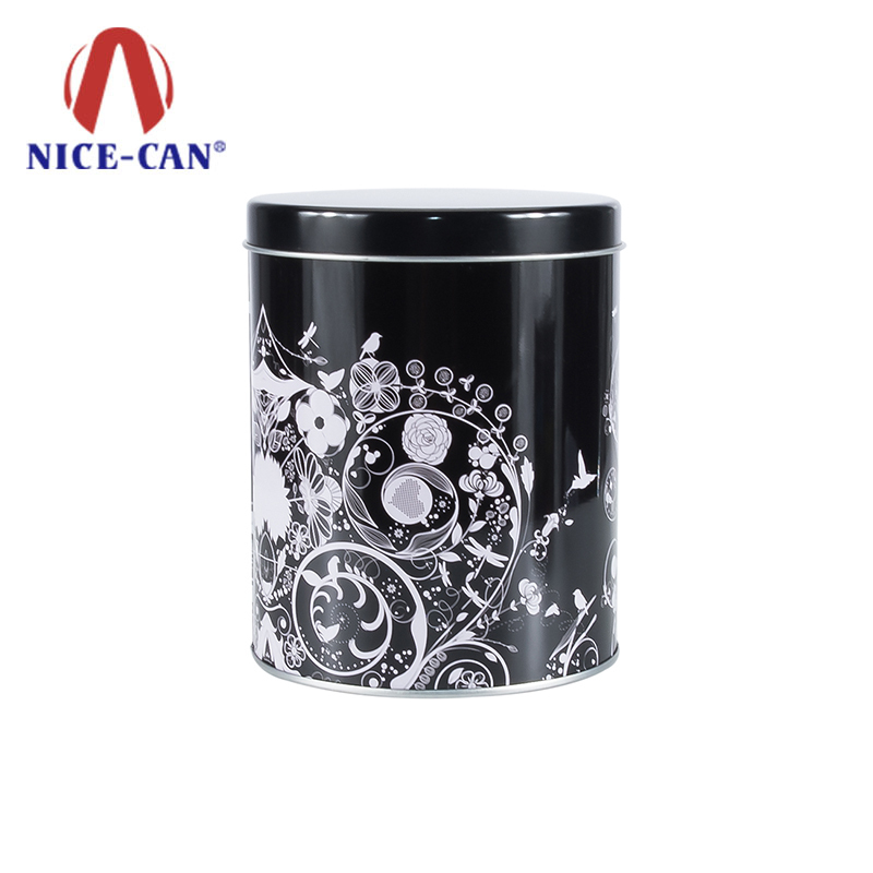 Manufacturers custom round cosmetics tin box mask tin can