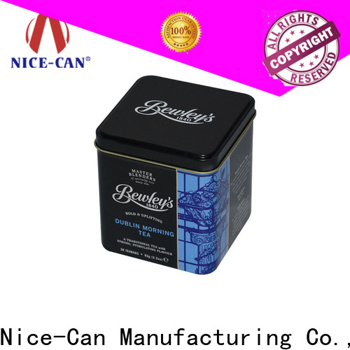 superior quality tea tin box suppliers for sale