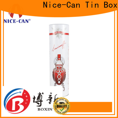 Nice-Can wholesale wine tin supply for gifts