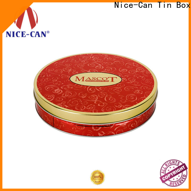 Nice-Can moon cake food storage tins factory for food