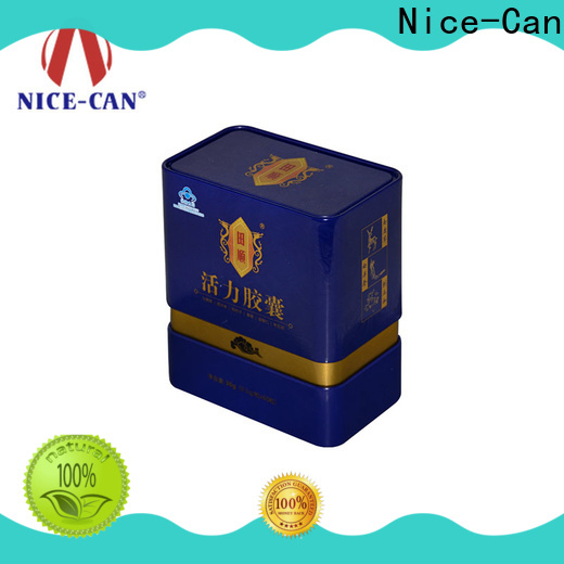 square food tin cans manufacturers factory for food