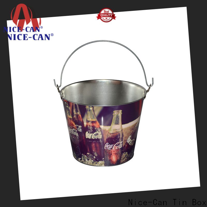large promotional tin cooler for business