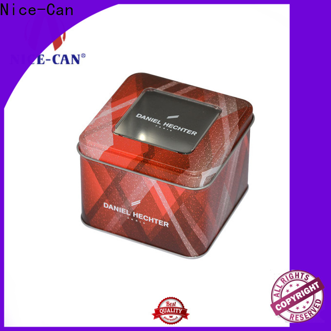 Nice-Can food tin boxes factory for business