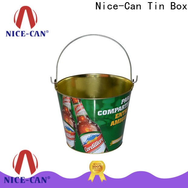 Nice-Can promotional tin company for sale