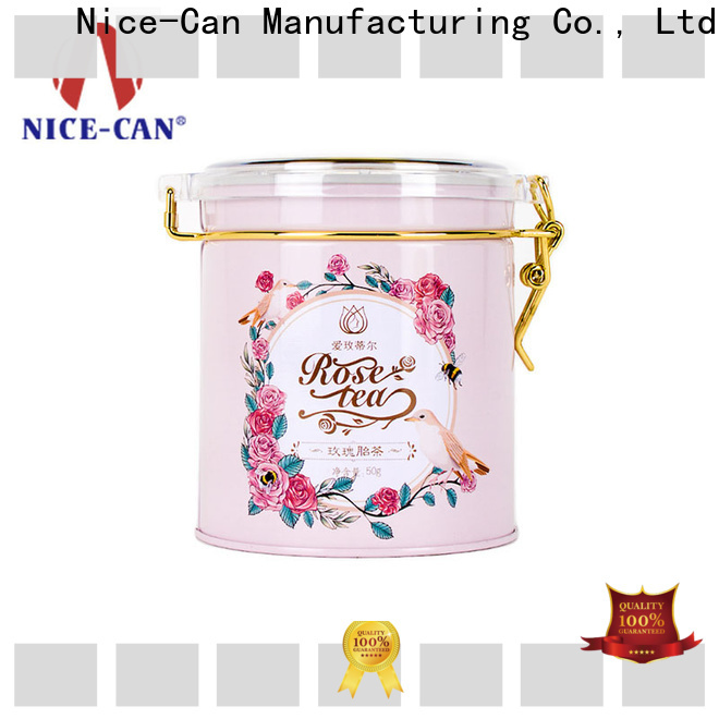 clear best tea tins company for sale