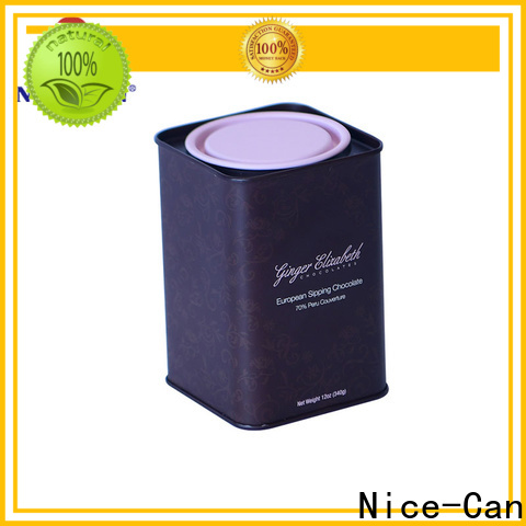 Nice-Can high-quality chocolate tins manufacturers suppliers for sale