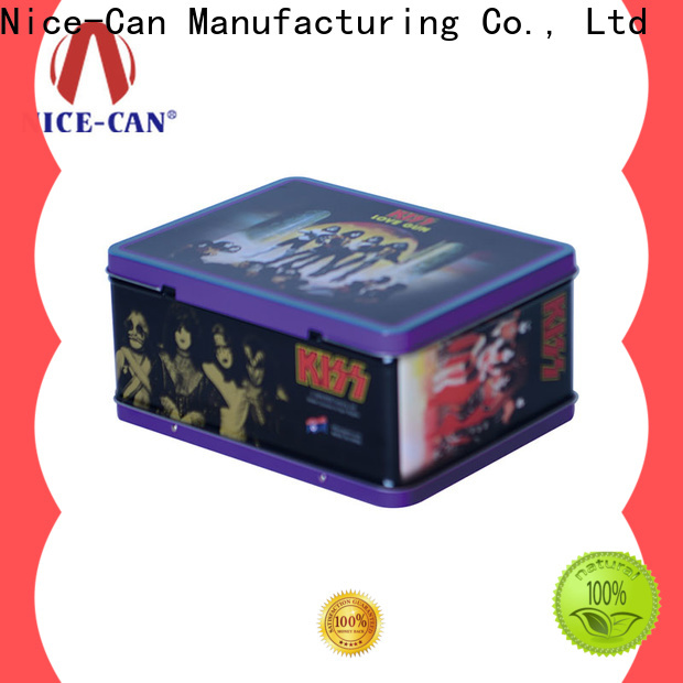 Nice-Can custom tin lunch box supply for business