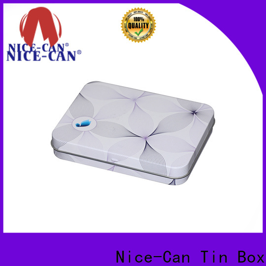 Nice-Can square soap tin box for business for villa