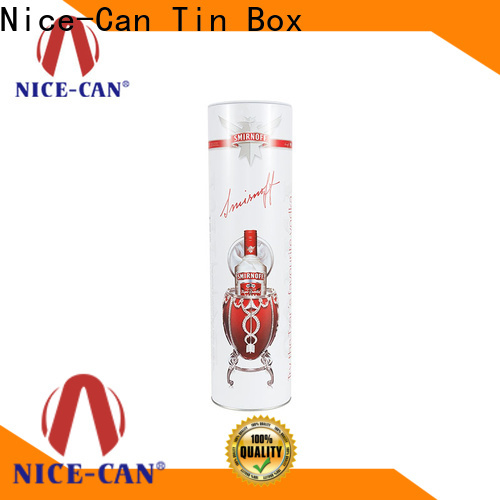Nice-Can wine tin box factory for sale