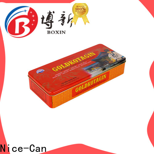 Nice-Can grade food packaging tin cans factory for business