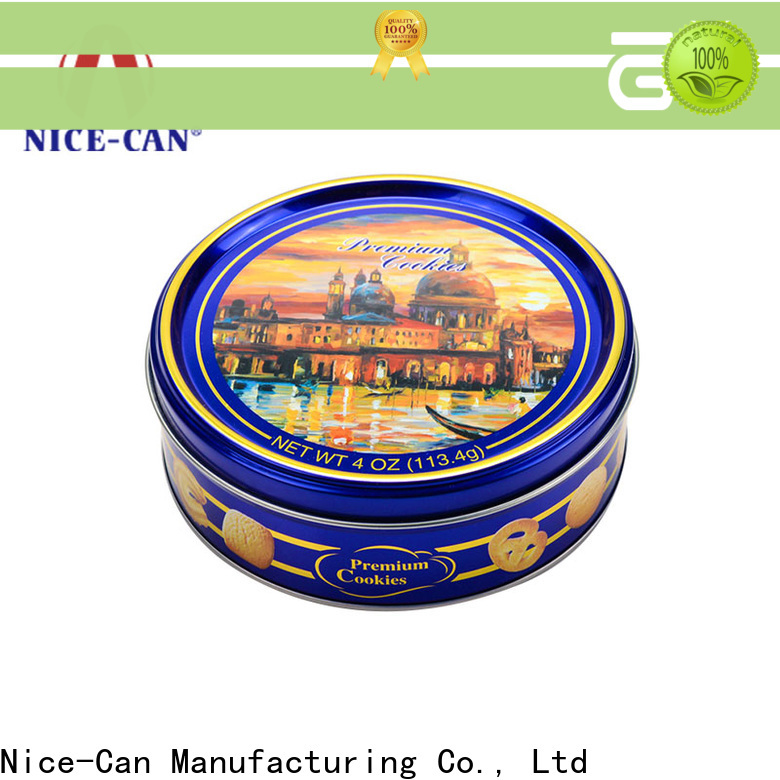 Nice-Can wholesale cookie storage tins for business for sale