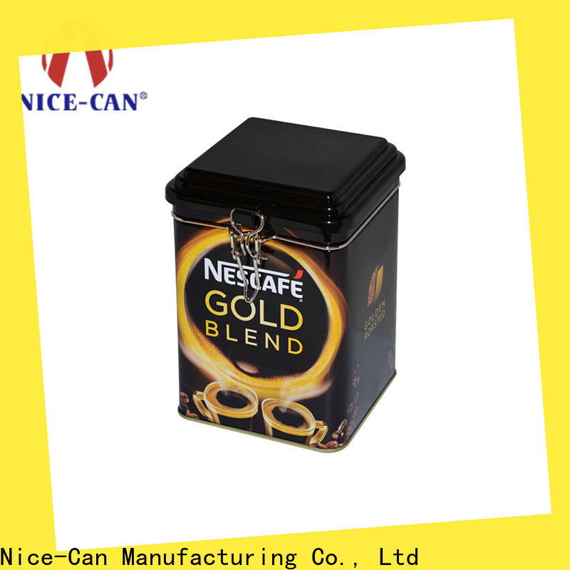Nice-Can high-quality coffee storage tin factory for hotel