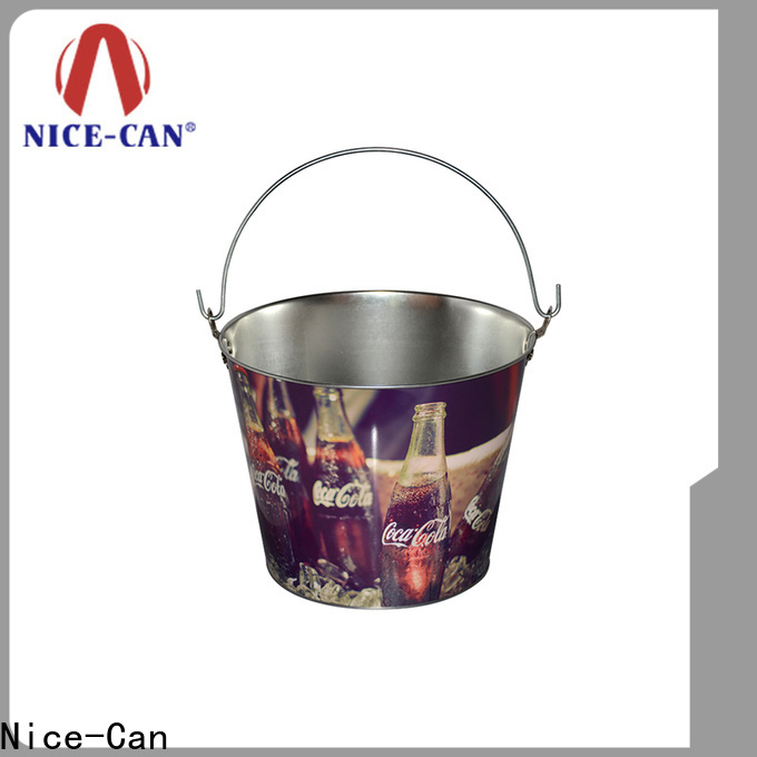 Nice-Can round promotional tin suppliers for promotion