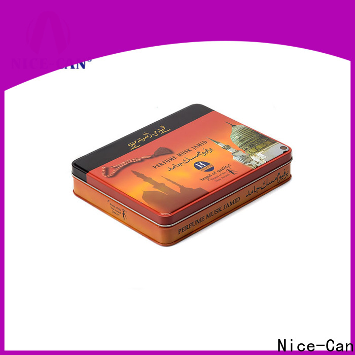 Nice-Can small tobacco tins manufacturers with custom logo for business
