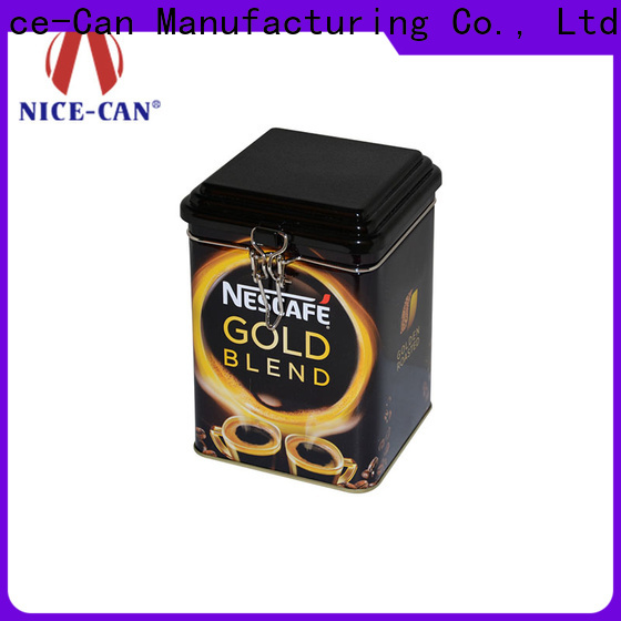 Nice-Can fast delivery coffee tin box suppliers for home