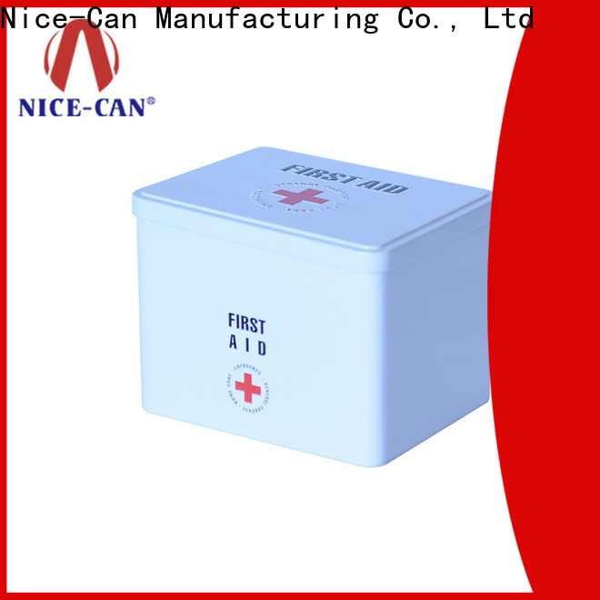 Nice-Can medical tin factory for home