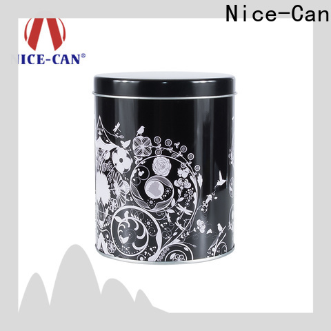 Nice-Can round cosmetic tins factory for gifts