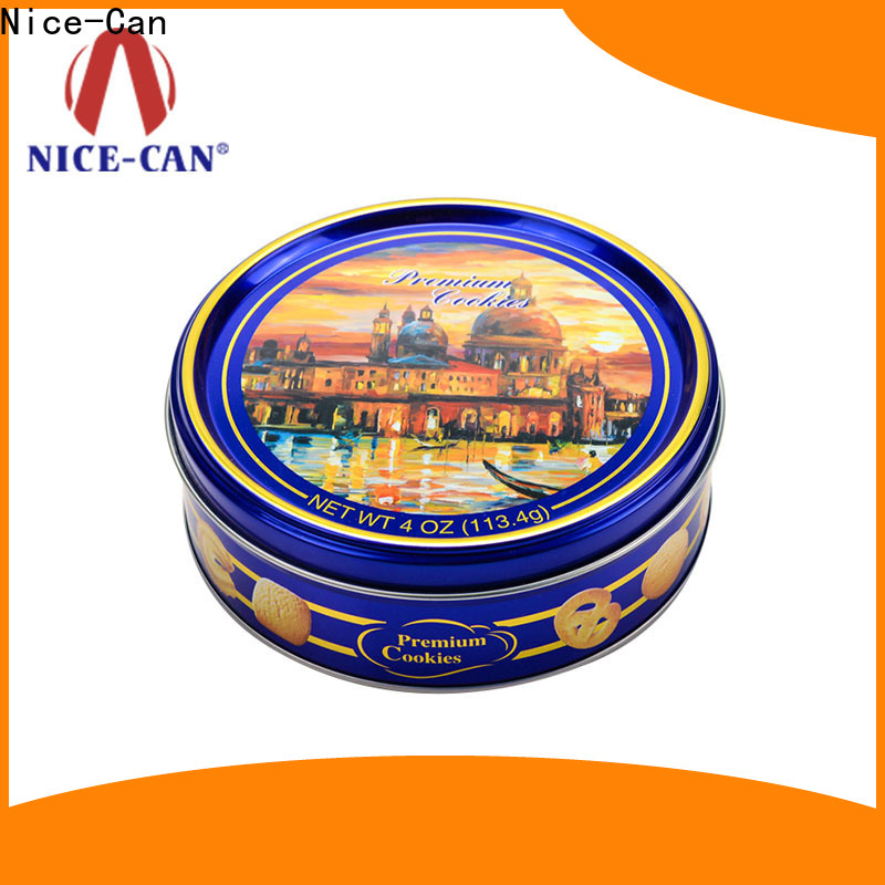 Nice-Can cookies tin company for gifts