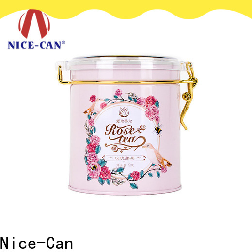 Nice-Can tea tins manufacturers company for business