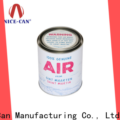 metal candy tin can factory for sale