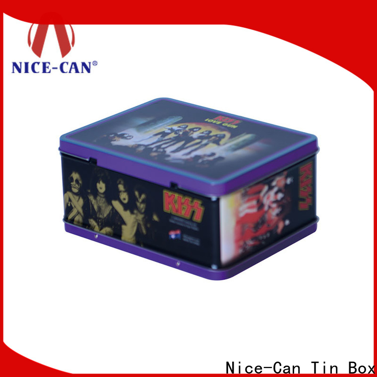 custom tin can lunch box manufacturers for sale