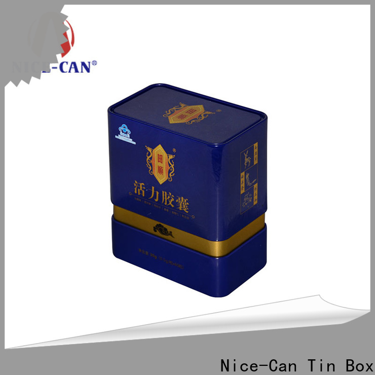 capsule food tin cans manufacturers factory for food