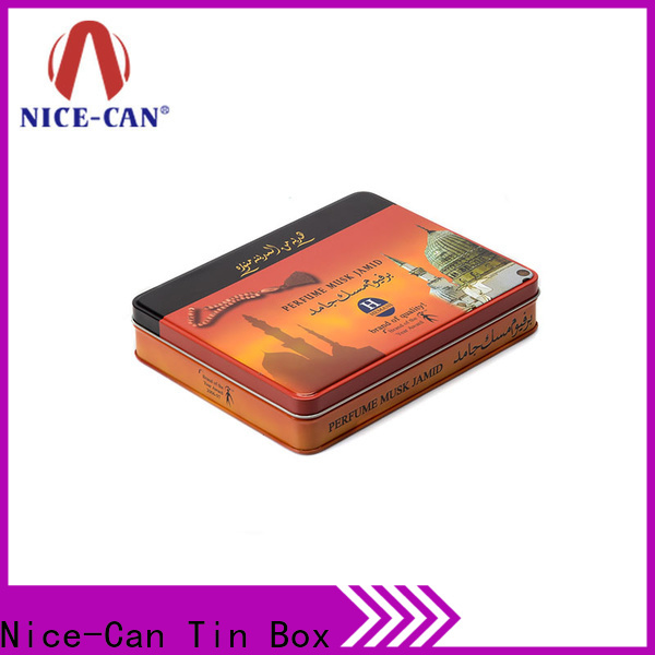 Nice-Can top tobacco tin with custom logo for gifts