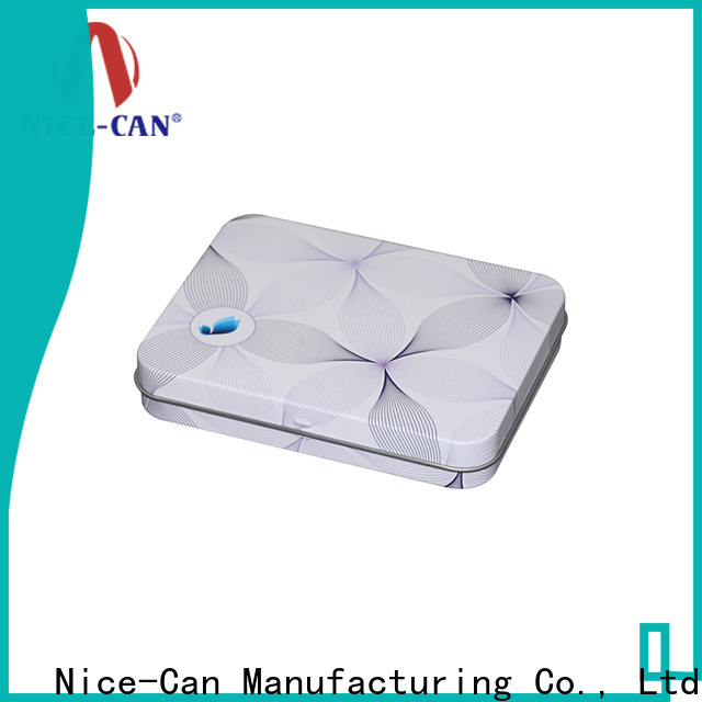 Nice-Can soap tin box factory for packaging