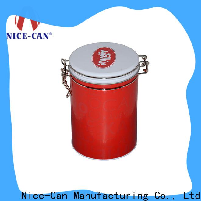 Nice-Can tea storage tins company for sale