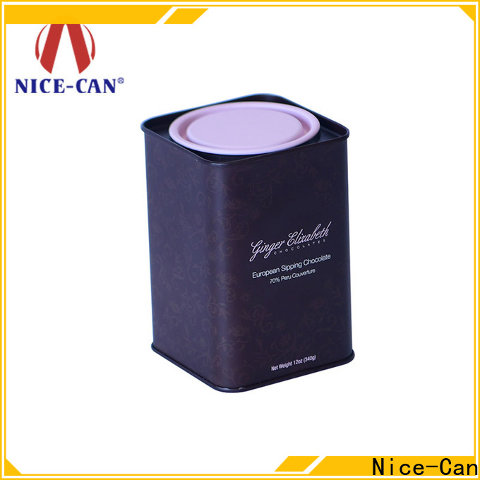 Nice-Can wholesale chocolate tin box factory for sale