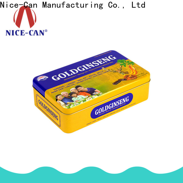Nice-Can food packaging tin cans factory for business