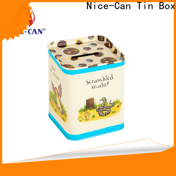 Nice-Can best saving money tin supply for gifts