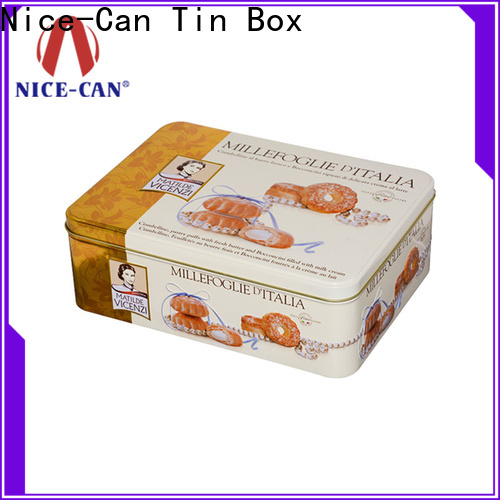 Nice-Can cheap cookie tins factory for food packaging