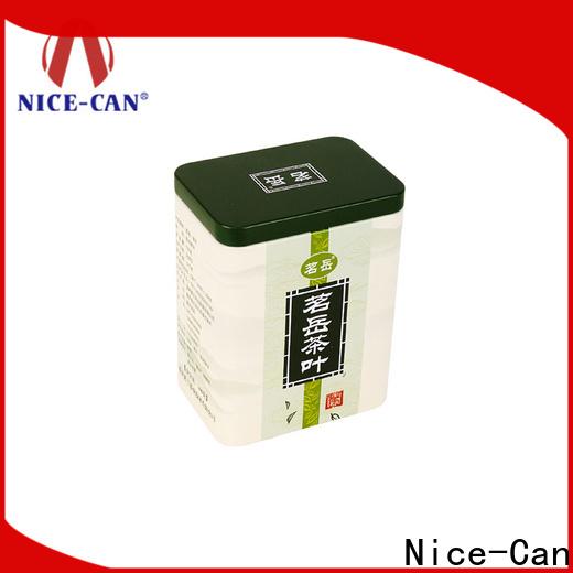 Nice-Can wholesale tea storage tins company for sale
