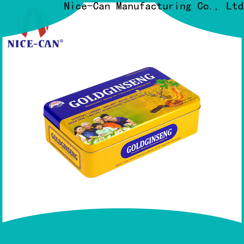 Nice-Can food tin boxes suppliers for sale