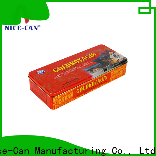 Nice-Can food packaging tin supply for sale