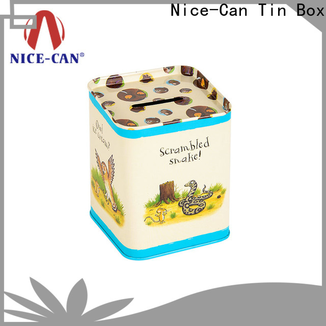 Nice-Can top saving money tin suppliers for present