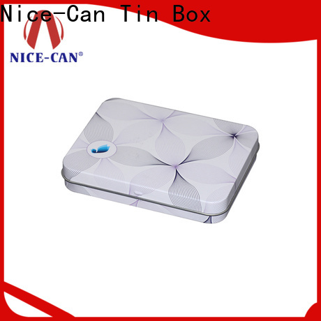 Nice-Can soap tin supply for villa