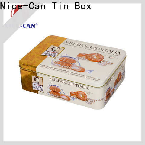 Nice-Can latest custom cookie tin factory for gifts