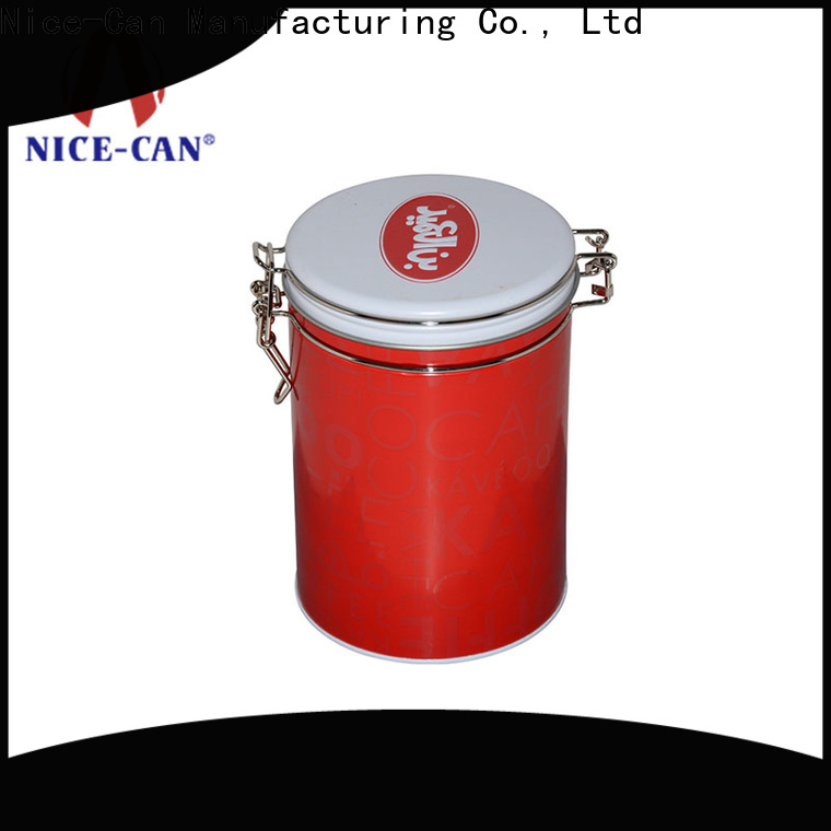 Nice-Can factory price tea tin container canister for presents