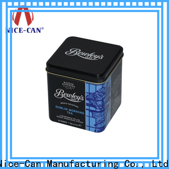 Nice-Can tea tin box company for sale