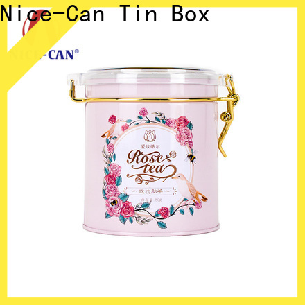 Nice-Can custom tea tins suppliers for gift