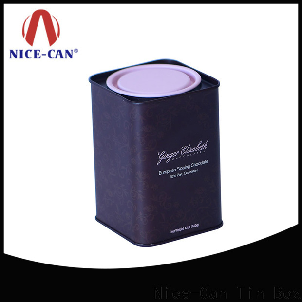 Nice-Can new chocolates tin suppliers for presents
