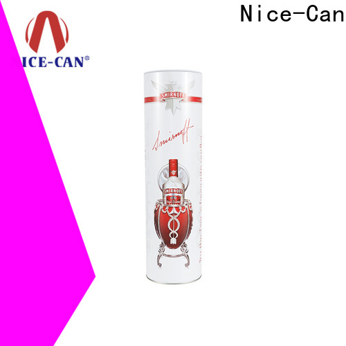 Nice-Can wine tin box factory for presents