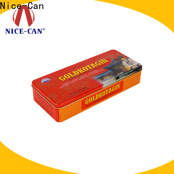 Nice-Can grade food packaging tin manufacturers for business