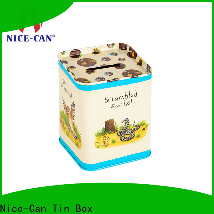Nice-Can top saving money tin manufacturers for gifts