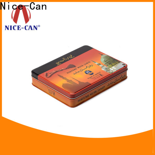 Nice-Can metal cheap tobacco tins with custom printing for gifts