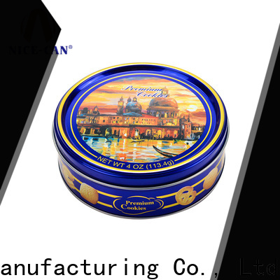 danish butter custom biscuit tin supply for sale